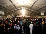 Warm tent at U.S. Pond Hockey